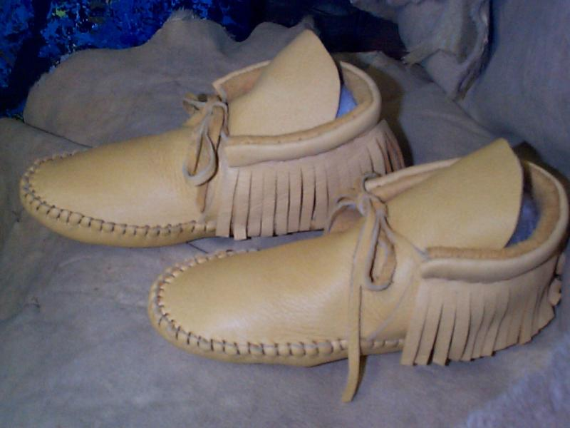 MOCCASINS ANKLE HIGH